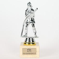 Trofee brandweerman 18,5 cm