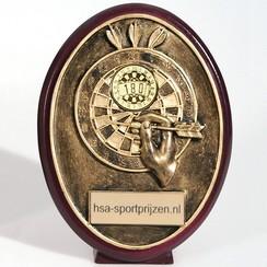 Trofee dartbord 14,5 cm