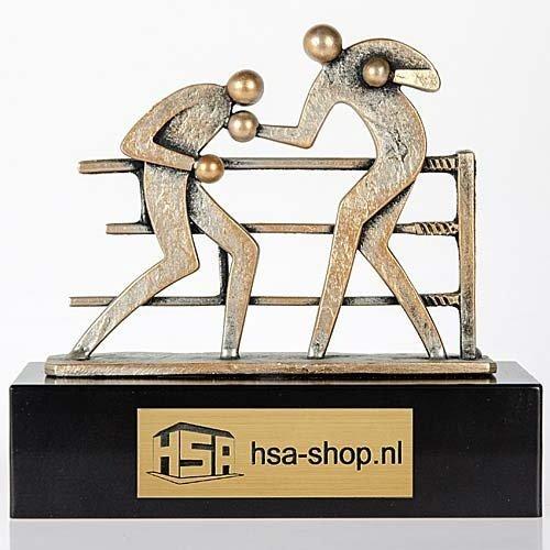 Trofee boksen 18cm