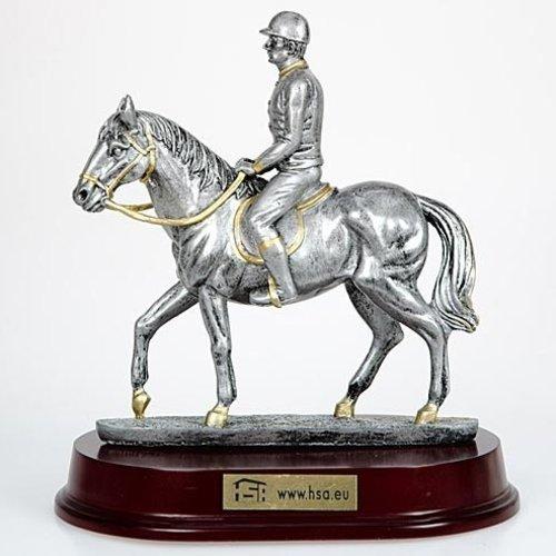 Figuur paard dressuur 24cm
