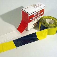Afzetband rol 500m zwart-geel