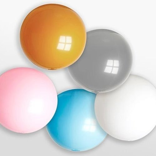 Globos Reuze ballon metallic ø 90 cm