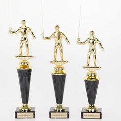 Trofee visser metaal