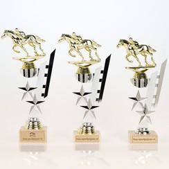 Trofee paardenrace goud