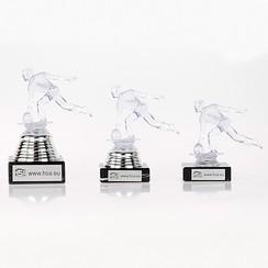 Trofee bowling transparant
