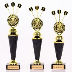 Trofee dartpijltjes goud