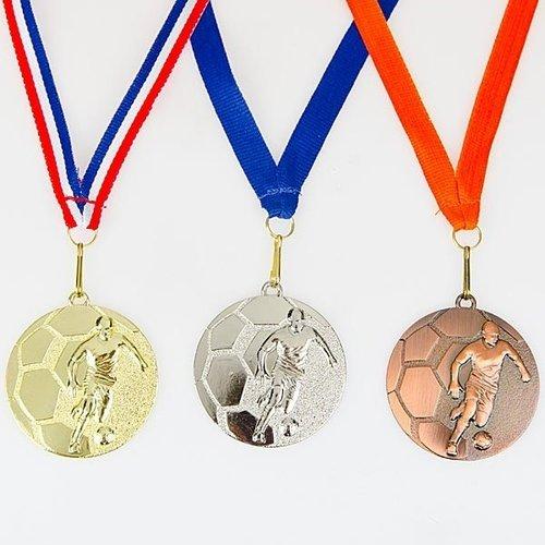 Medaille Voetbal Kicker ø5cm
