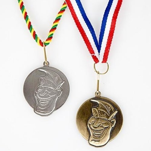 Medaille prins Jerry 3D-reliëf ø4cm