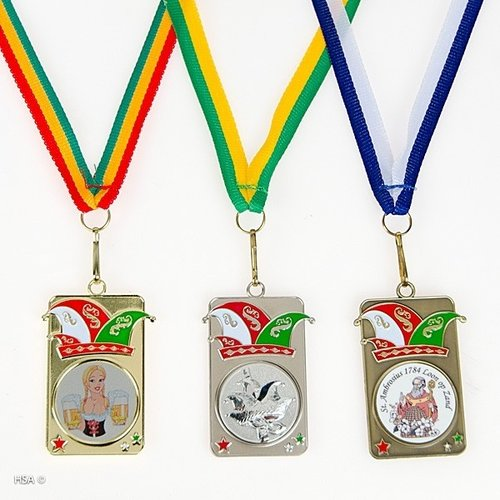 Medaille Hanso 5x3cm