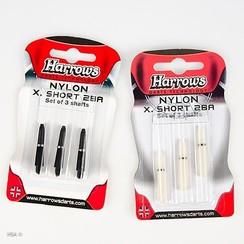 Shaft Nylon + ring extra short 3 pak