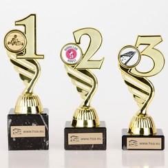 Trofee nummer 1-2-3