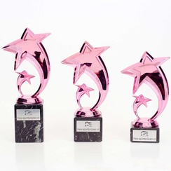 Trofee Achievement Award Pink