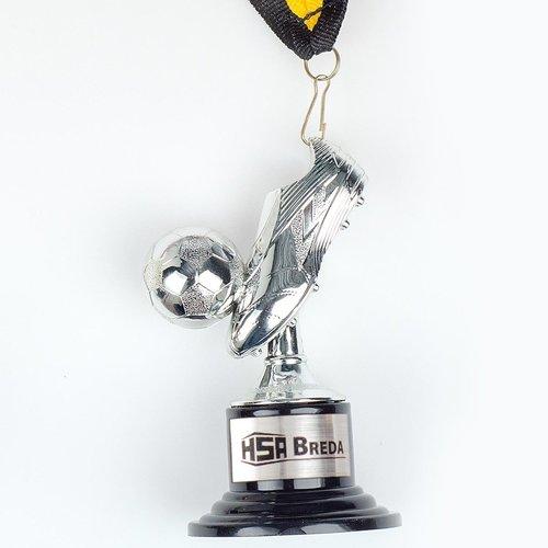 Medaille Mini-voetbalschoen 10,5 cm