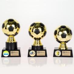Trofee Voetbal Goud-zwart
