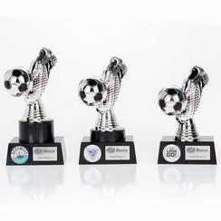 Trofee Voetbalschoen Zilver