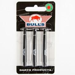 Shaft Bull's zwart met ring