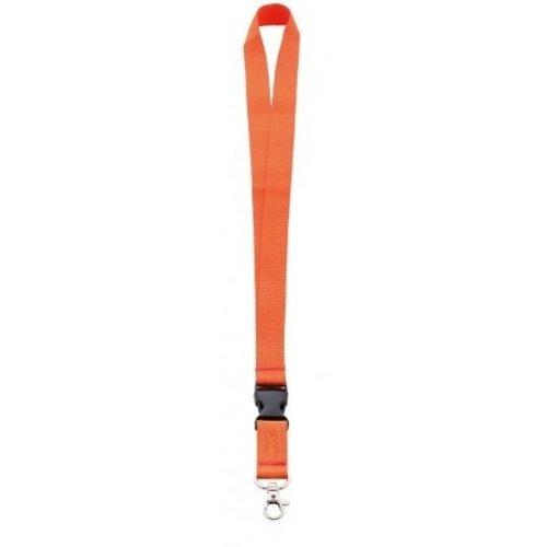 Keycord 2 cm met karabijnhaak