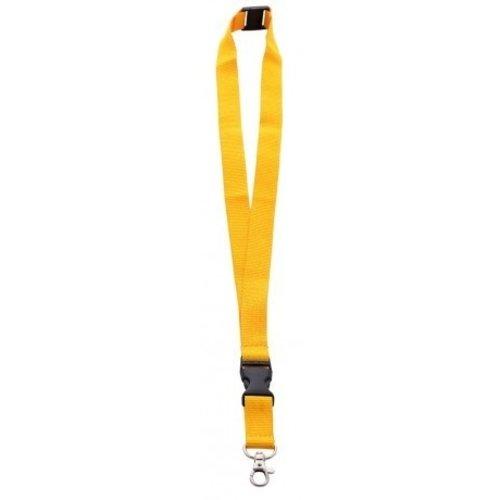 Keycord 2 cm met karabijnhaak en veiligheidssluiting
