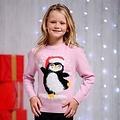 Kersttrui pinguin