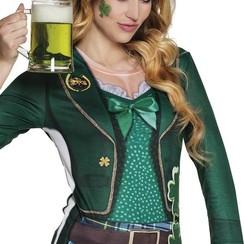 Fotorealistisch t-shirt dames St. Patrick's Day
