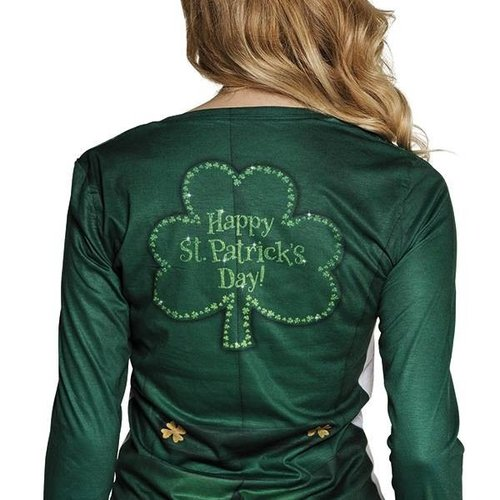 Boland BV Fotorealistisch t-shirt dames St. Patrick's Day