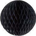 Decoratie bal zwart brandveilig