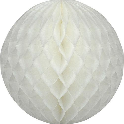 Decoratie bal wit brandveilig