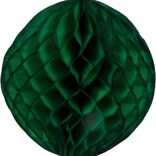 Decoratie bal groen brandveilig