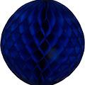 Decoratie bal blauw brandveilig