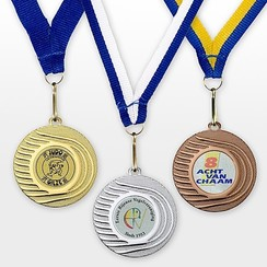 Medaille Valeri ø 5 cm