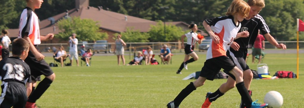 Start voetbal competitie