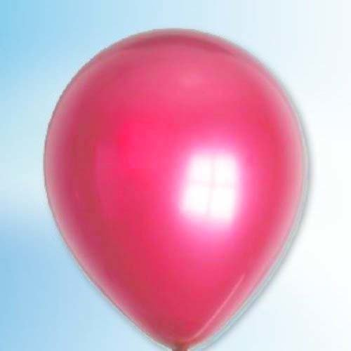 Globos Ballon metallic magenta ø 30 cm 100 stuks