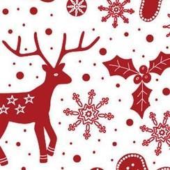 Verpakkingzakjes kerst 12 x 18 cm 200 stuks