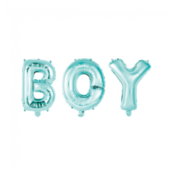 Folie ballon Boy blauw 40 cm