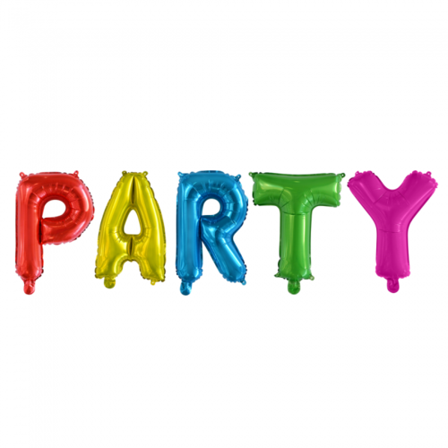 Globos Nordic Folie ballon Party 40 cm