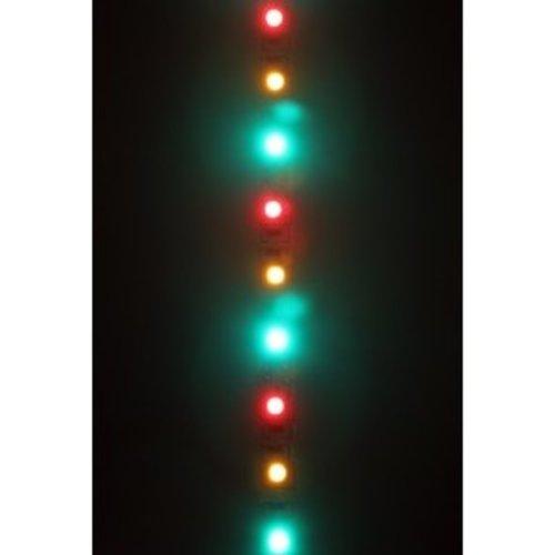 LED strip rood-geel-groen 300 lampjes 5 m