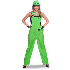 Tuinbroek neon groen