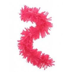 Folie slinger roze pvc 10 m brandveilig