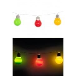 Lichtsnoer rood-geel-groen 150 cm
