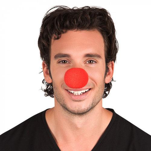 Clownsneus rood schuim