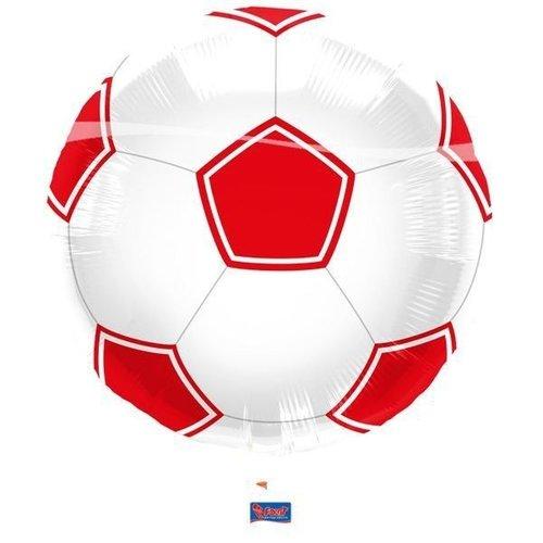 Globos Nordic Folie ballon voetbal 46 cm