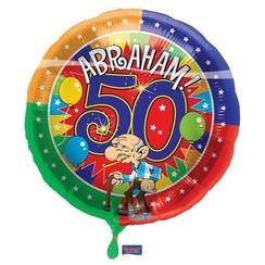 Folie ballon Abraham 43 cm