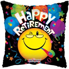 Folie ballon Happy Retirement 46 cm