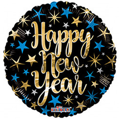 Folie ballon Happy New Year 46 cm
