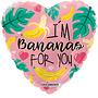 Folie ballon I'm Bananas For You 46 cm