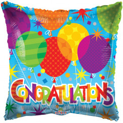 Folie ballon Congratulations 46 cm