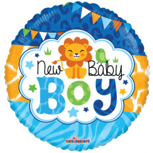 Globos Nordic Folie ballon New Baby Boy 46 cm
