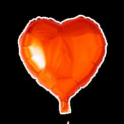 Folie ballon hart oranje 46 x 49 cm