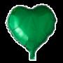 Folie ballon hart groen 46 x 49 cm