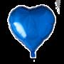 Folie ballon hart blauw 46 x 49 cm